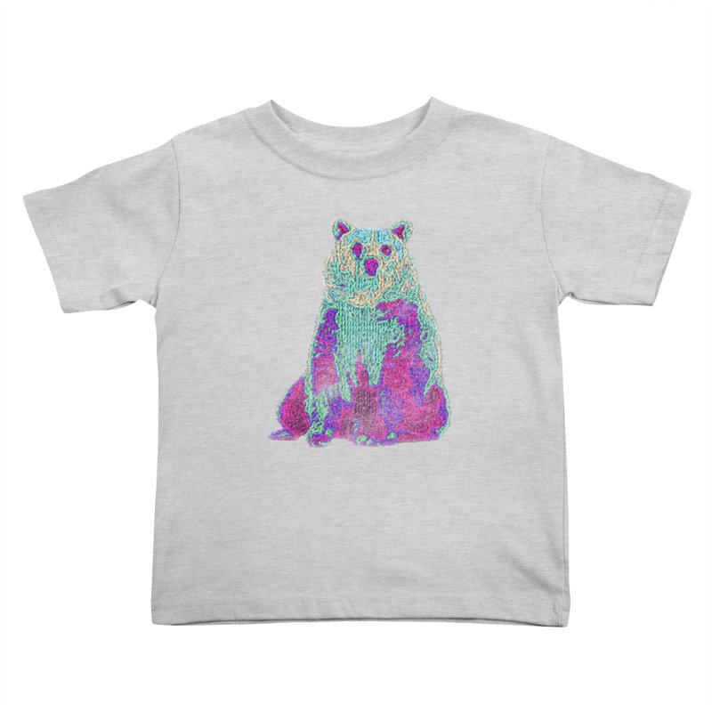 Bear Knit Kids Toddler T-Shirt by Misterdressup
