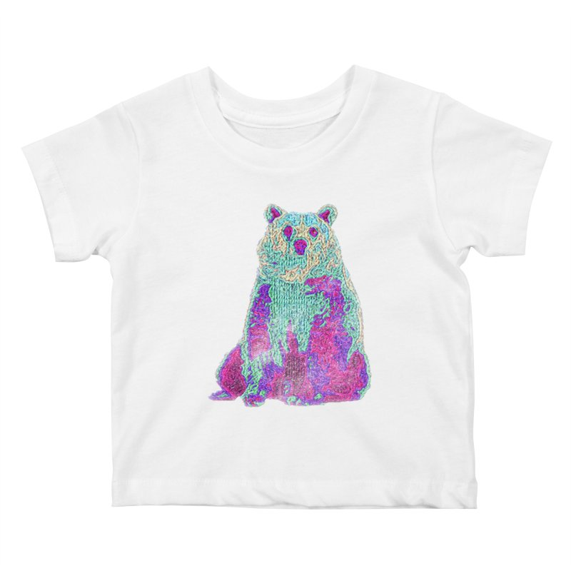 Bear Knit Kids Baby T-Shirt by Misterdressup
