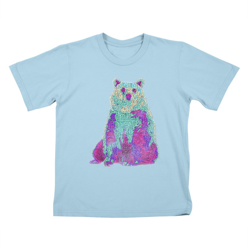 Bear Knit Kids T-Shirt by Misterdressup