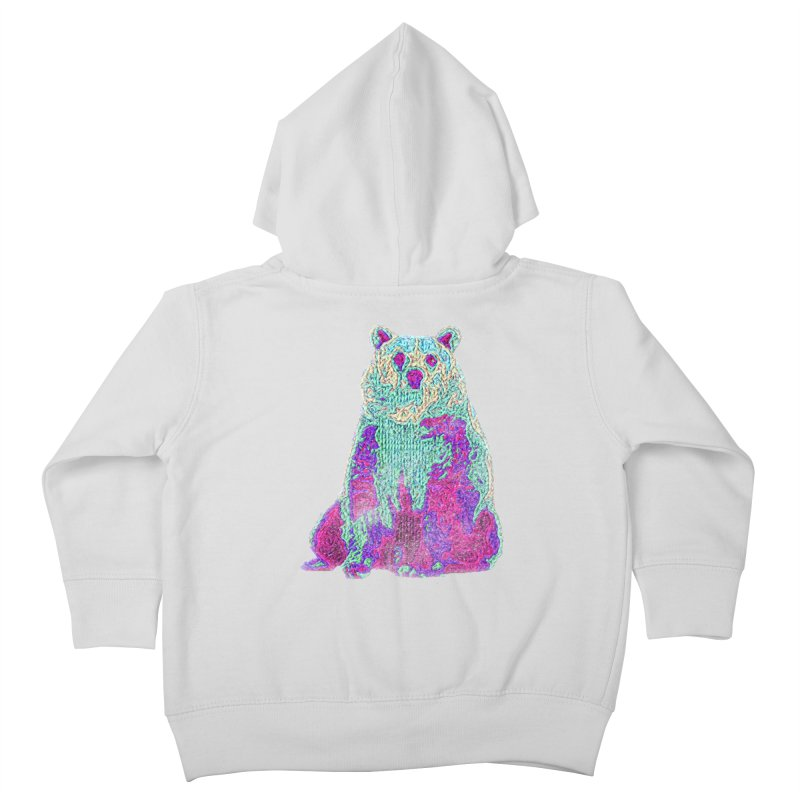 Bear Knit Kids Toddler Zip-Up Hoody by Misterdressup