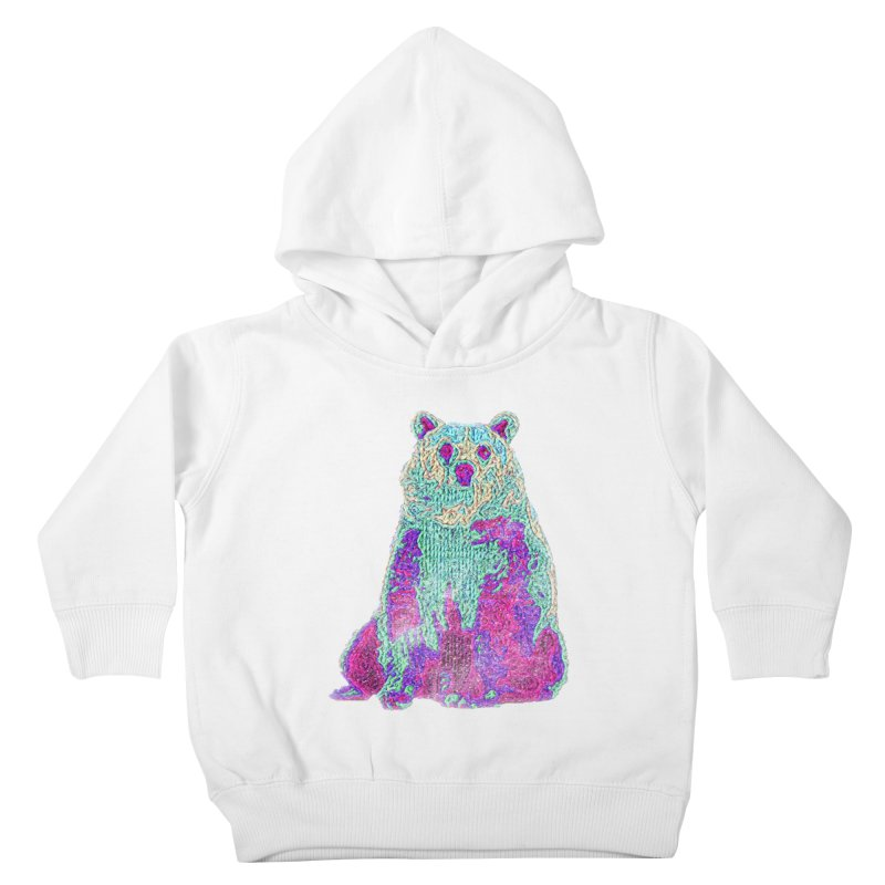 Bear Knit Kids Toddler Pullover Hoody by Misterdressup