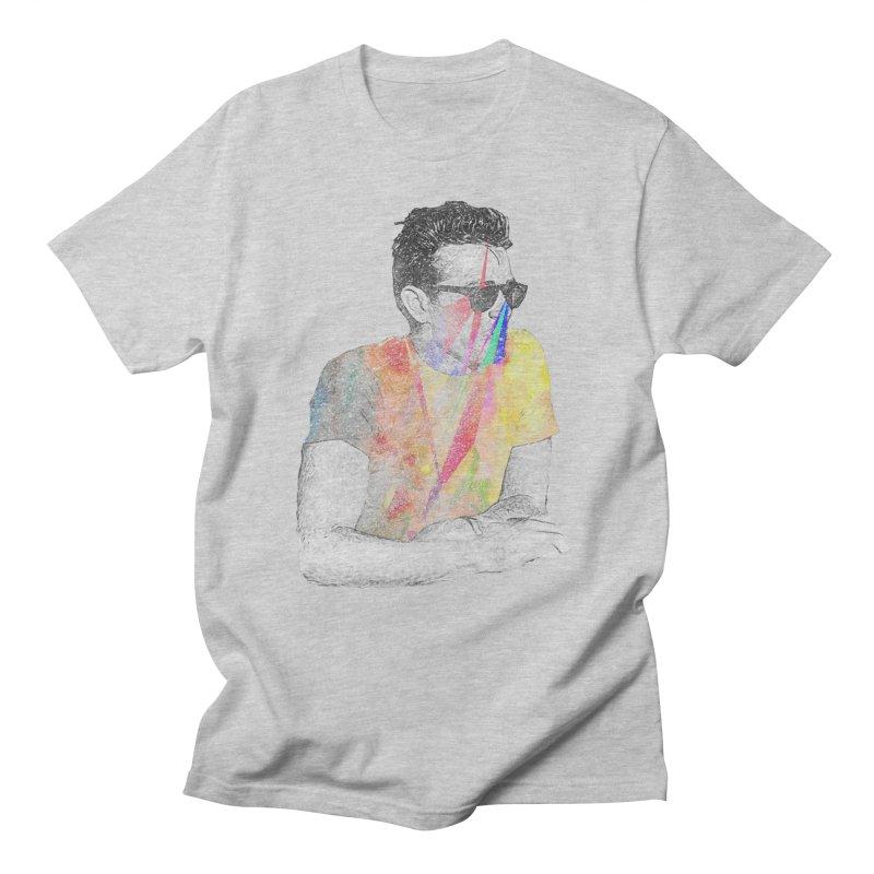 James Dean in Men's T-Shirt Heather Grey by Misterdressup