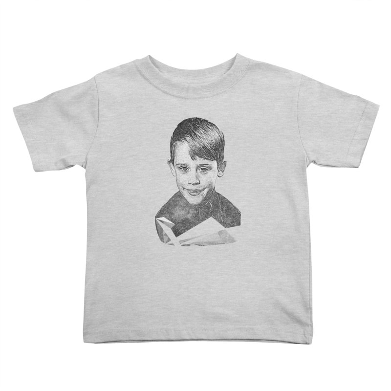 Kevin Mccallister Kids Toddler T-Shirt by Misterdressup