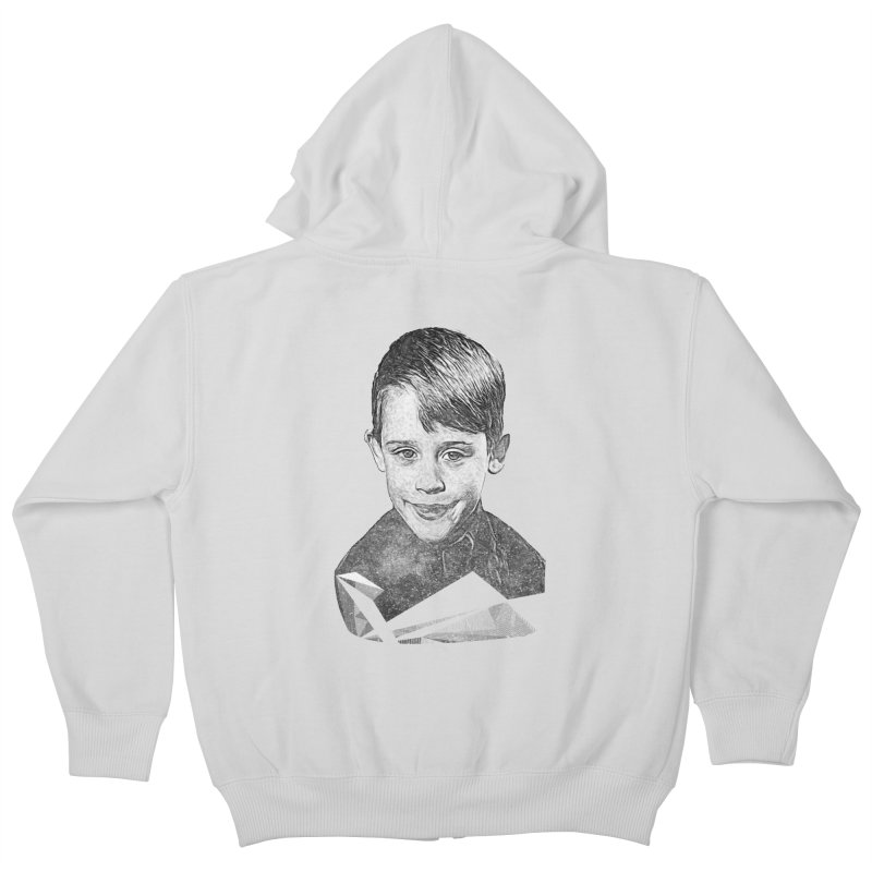 Kevin Mccallister Kids Zip-Up Hoody by Misterdressup