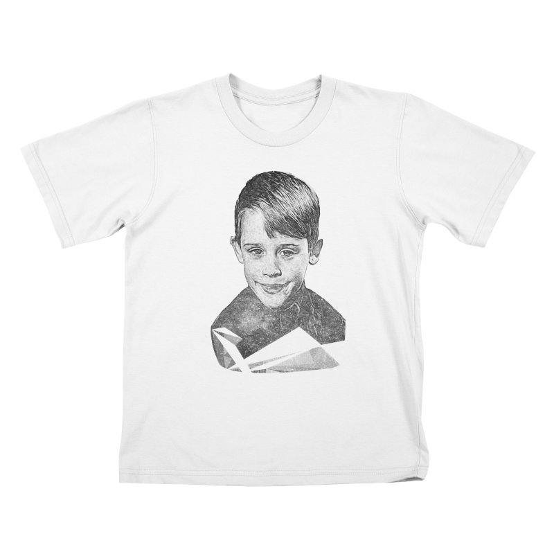 Kevin Mccallister Kids T-Shirt by Misterdressup