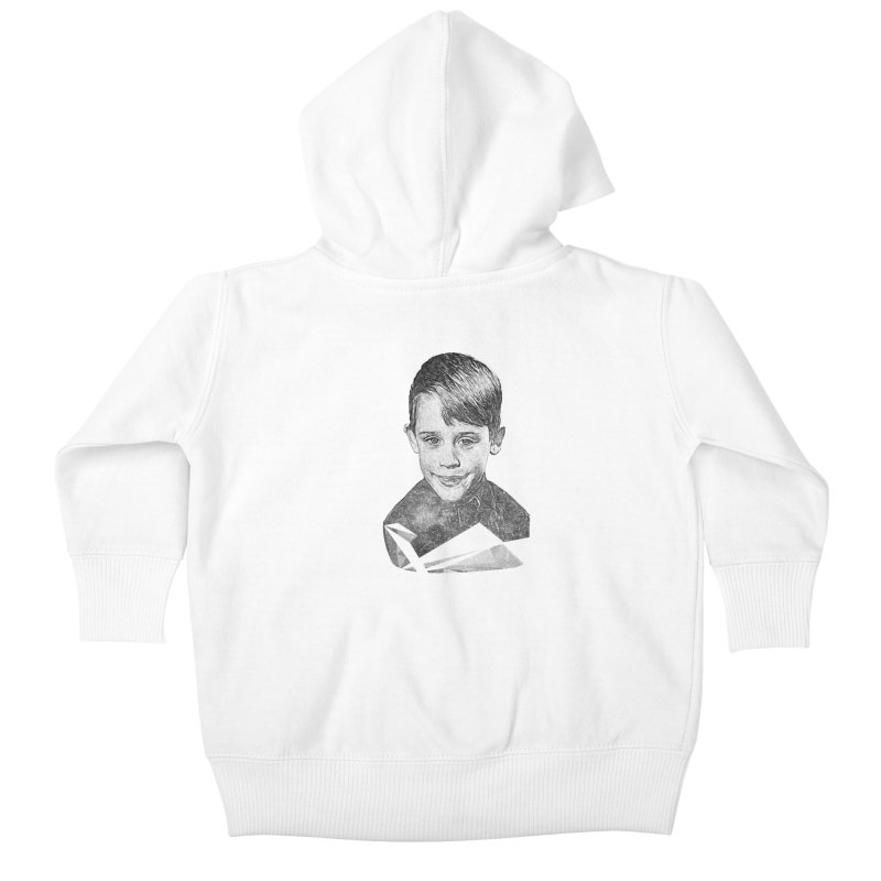Kevin Mccallister Kids Baby Zip-Up Hoody by Misterdressup