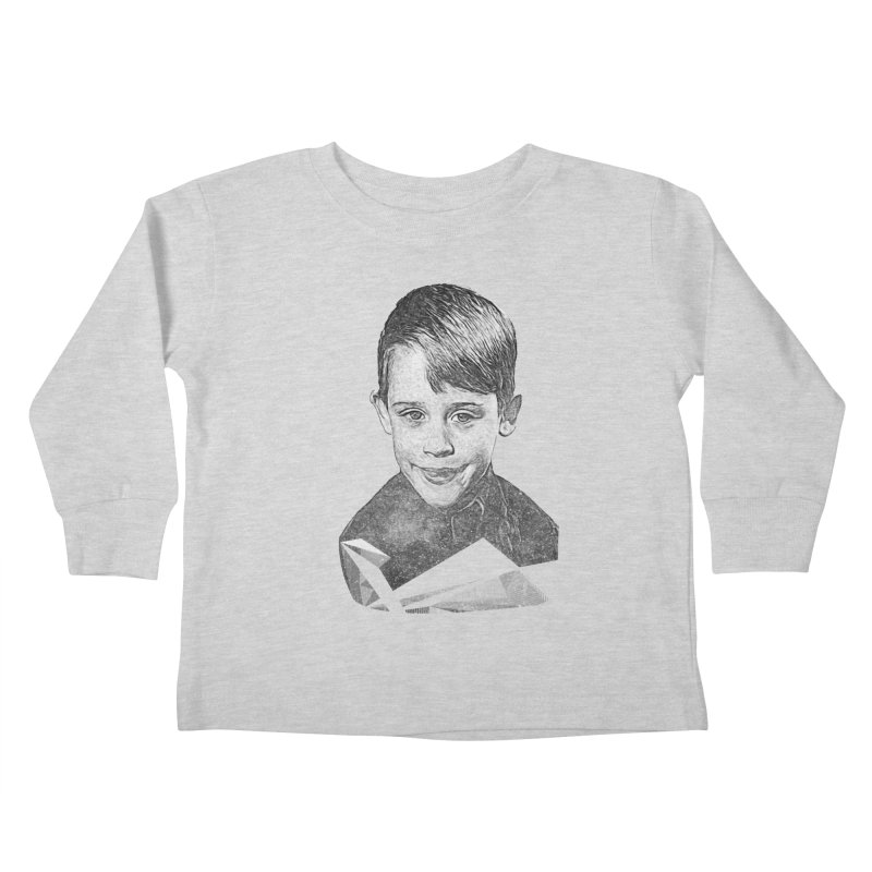Kevin Mccallister Kids Toddler Longsleeve T-Shirt by Misterdressup