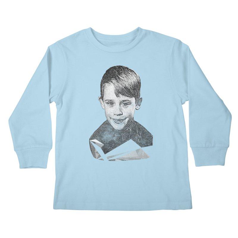Kevin Mccallister Kids Longsleeve T-Shirt by Misterdressup