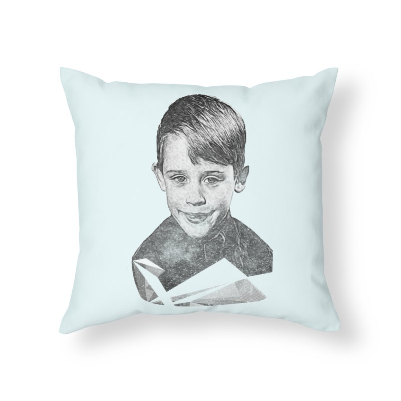 Kevin Mccallister in Throw Pillow by Misterdressup