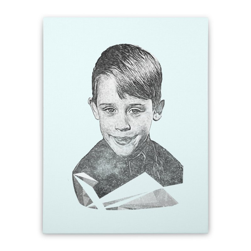 Kevin Mccallister Home Stretched Canvas by Misterdressup
