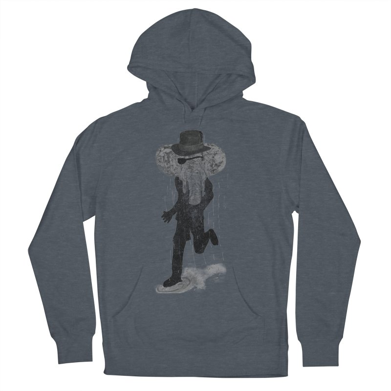 Piratelephant Men's French Terry Pullover Hoody by Misterdressup
