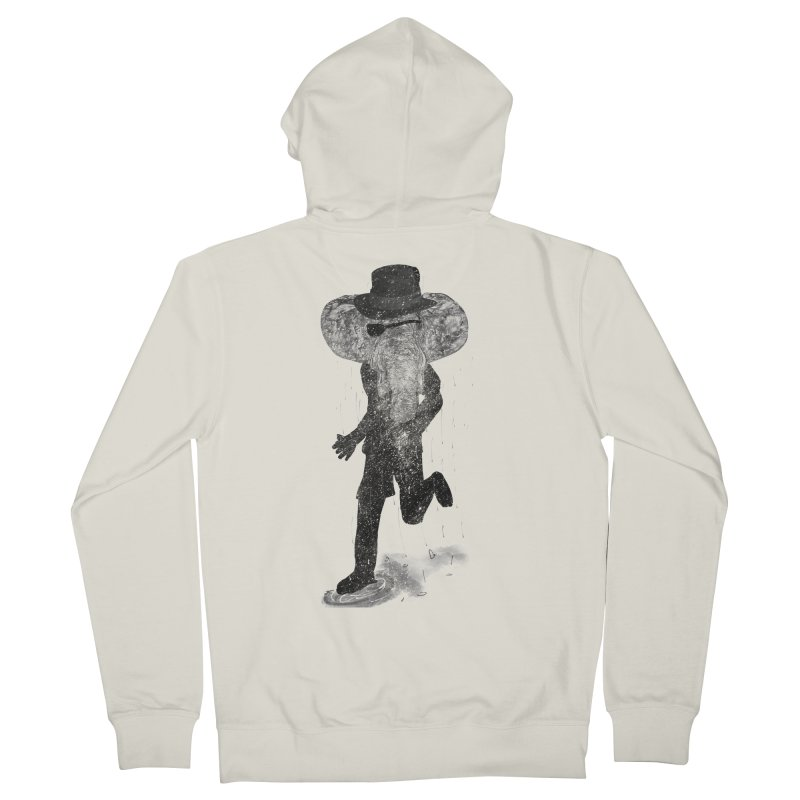 Piratelephant Men's French Terry Zip-Up Hoody by Misterdressup