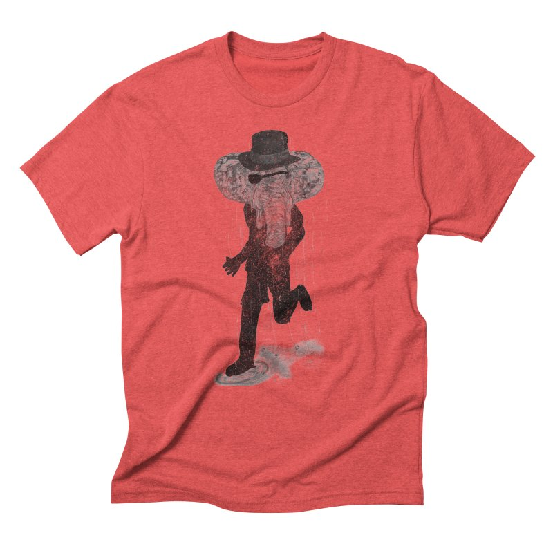 Piratelephant Men's Triblend T-Shirt by Misterdressup