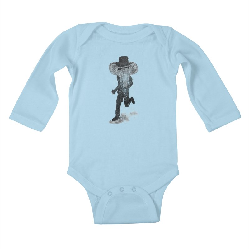 Piratelephant Kids Baby Longsleeve Bodysuit by Misterdressup