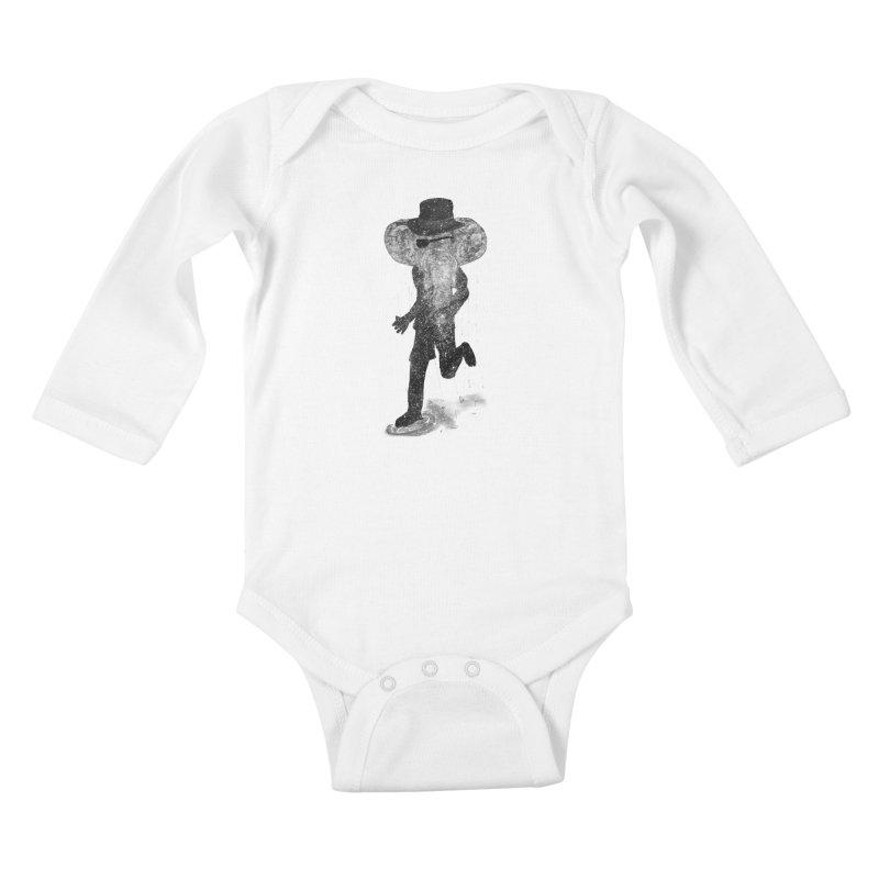 Piratelephant Kids Baby Longsleeve Bodysuit by Misterdressup