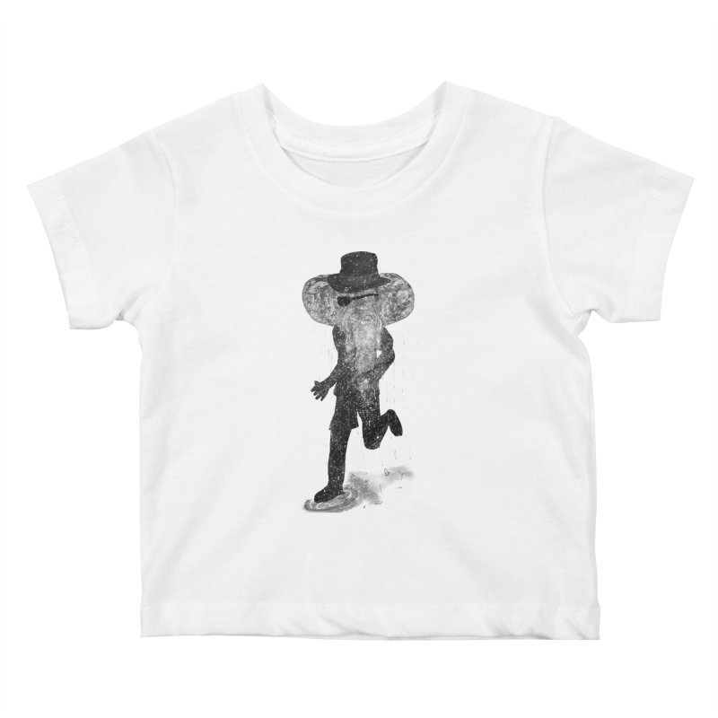 Piratelephant Kids Baby T-Shirt by Misterdressup