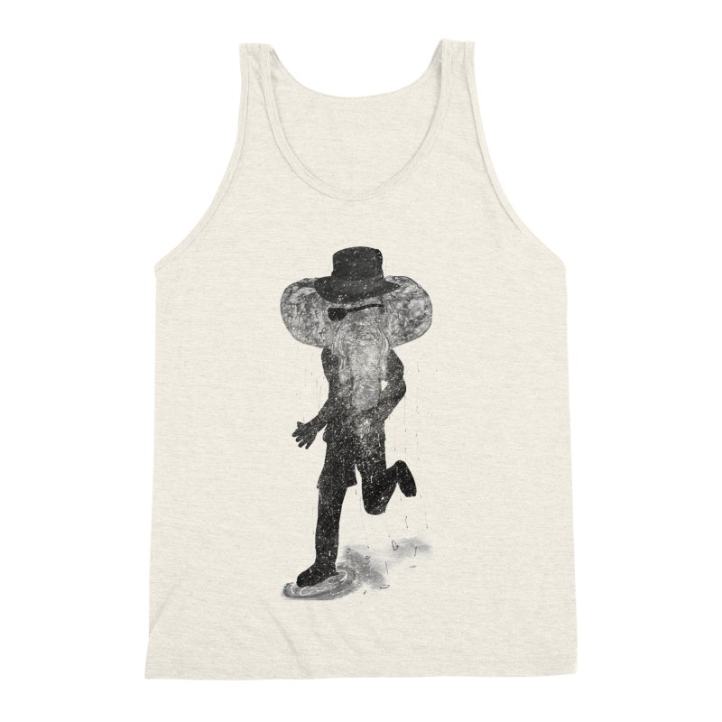 Piratelephant Men's Triblend Tank by Misterdressup