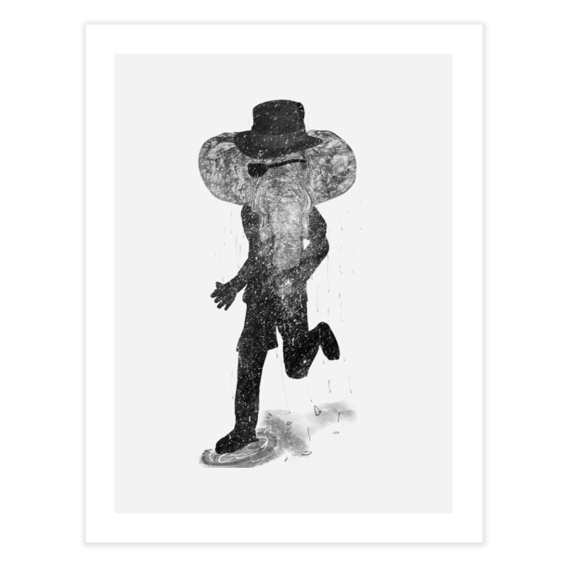 Piratelephant Home Fine Art Print by Misterdressup
