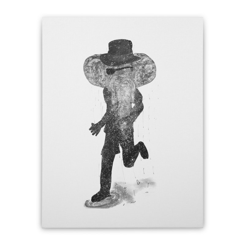 Piratelephant Home Stretched Canvas by Misterdressup