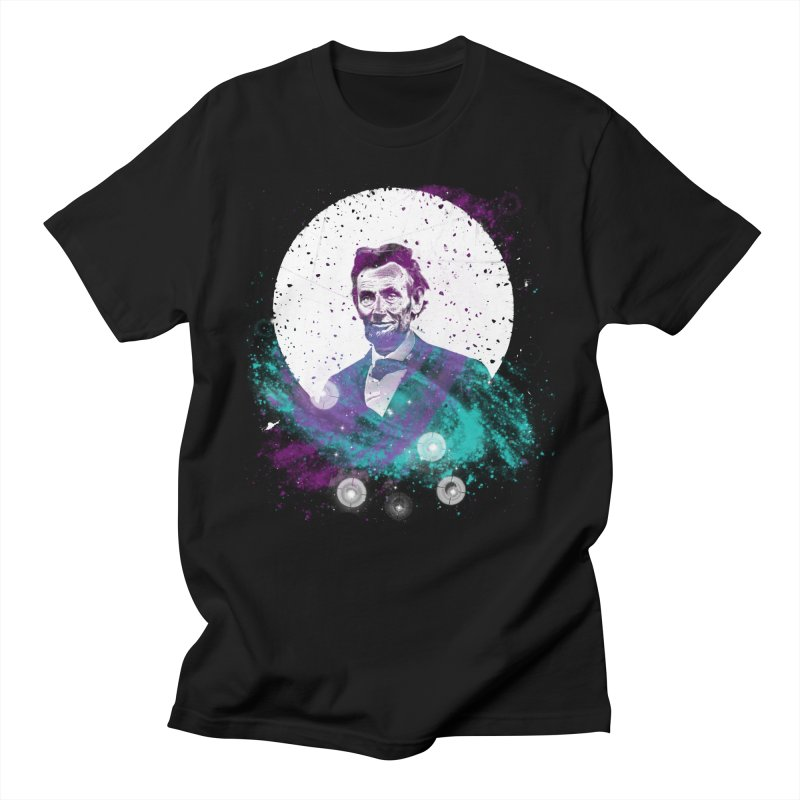 Cosmic Abe Men's T-Shirt by Misterdressup