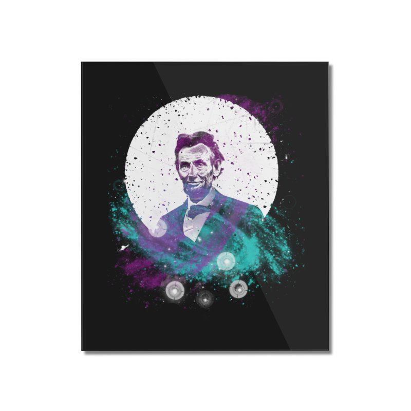 Cosmic Abe Home Mounted Acrylic Print by Misterdressup