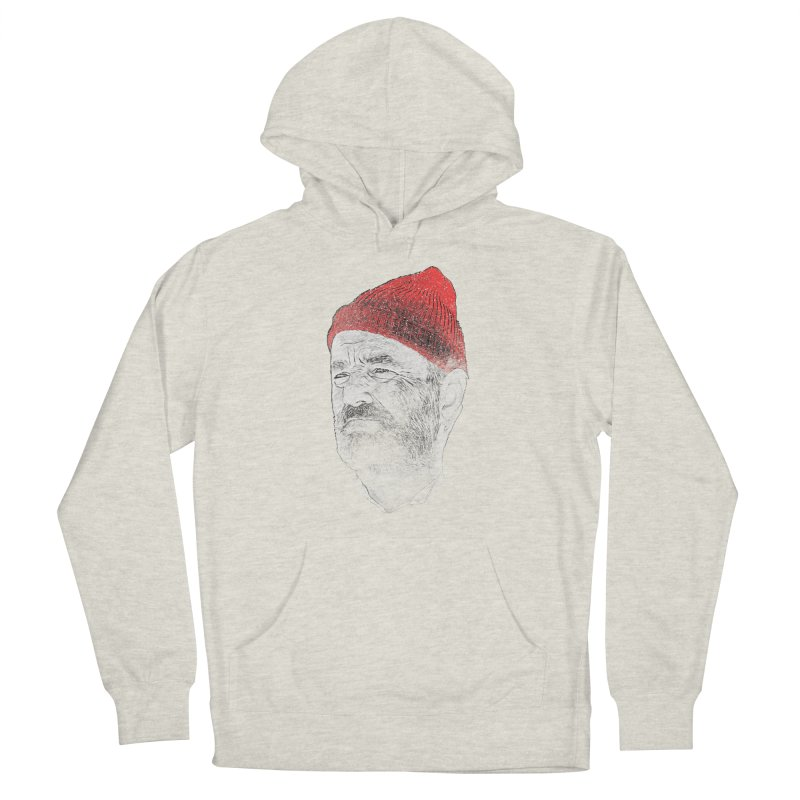 Steve Zissou Men's French Terry Pullover Hoody by Misterdressup