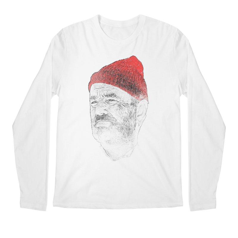 Steve Zissou Men's Longsleeve T-Shirt by Misterdressup