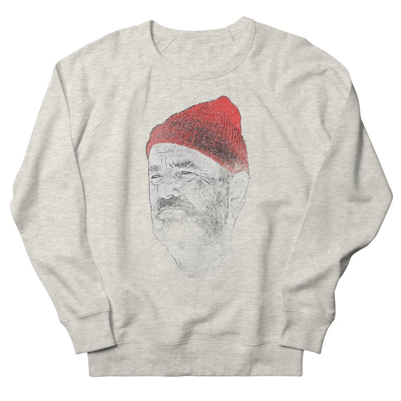 Steve Zissou Women's French Terry Sweatshirt by Misterdressup