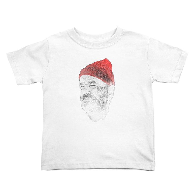 Steve Zissou Kids Toddler T-Shirt by Misterdressup