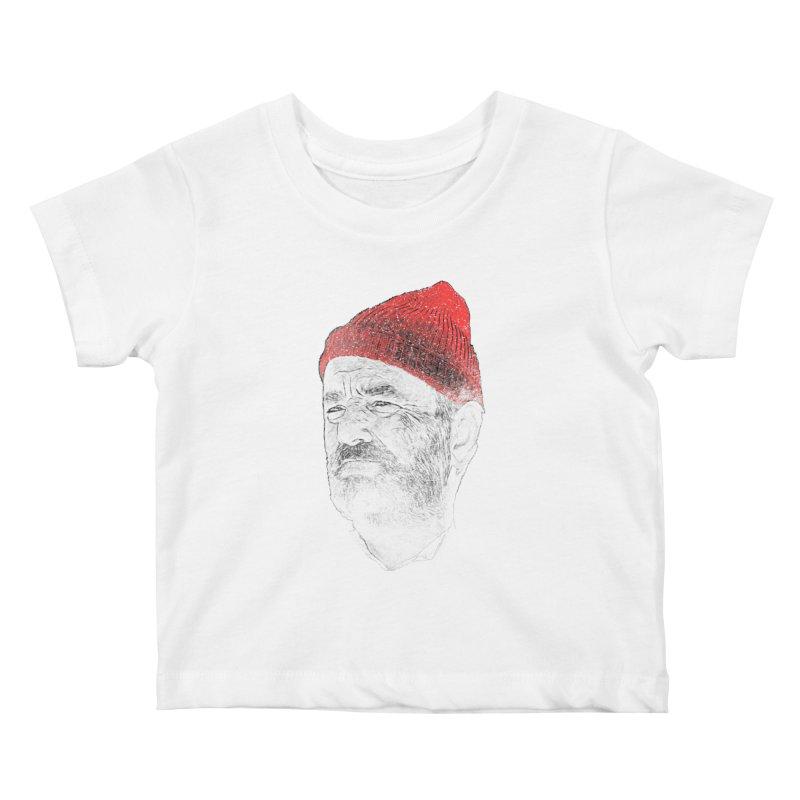Steve Zissou Kids Baby T-Shirt by Misterdressup