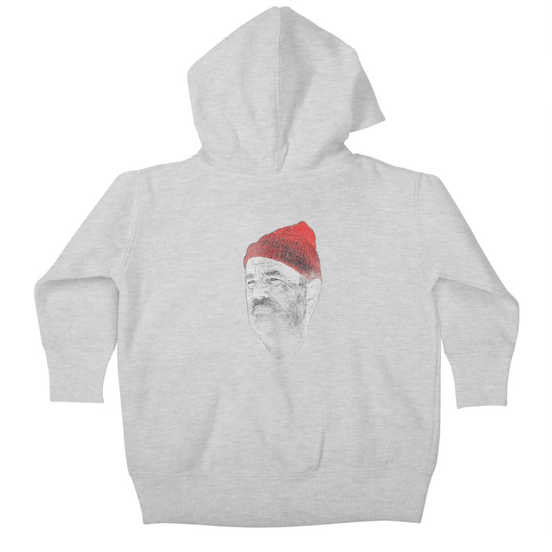 Steve Zissou Kids Baby Zip-Up Hoody by Misterdressup