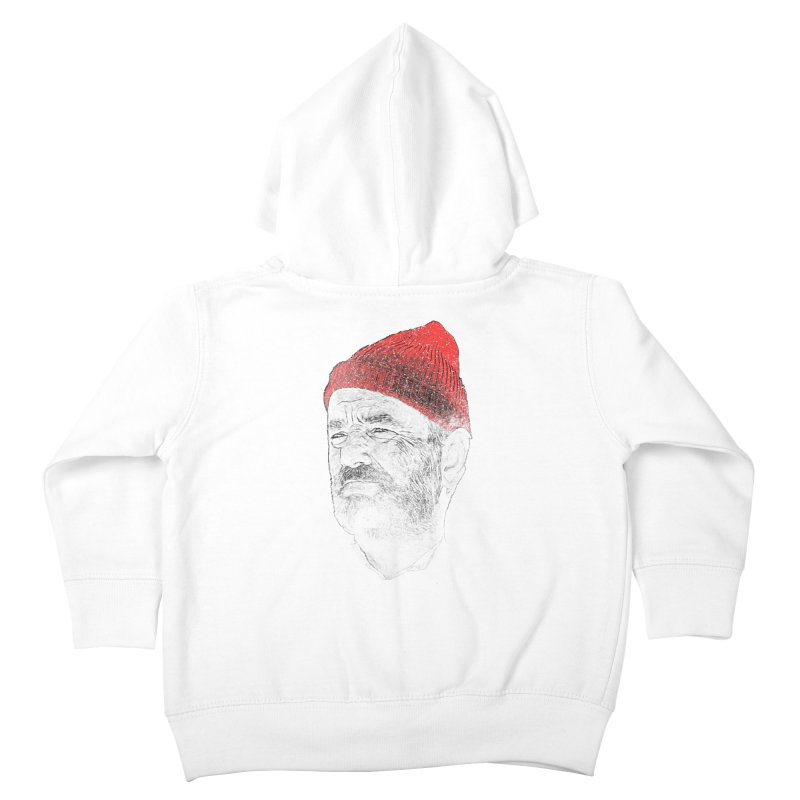 Steve Zissou Kids Toddler Zip-Up Hoody by Misterdressup