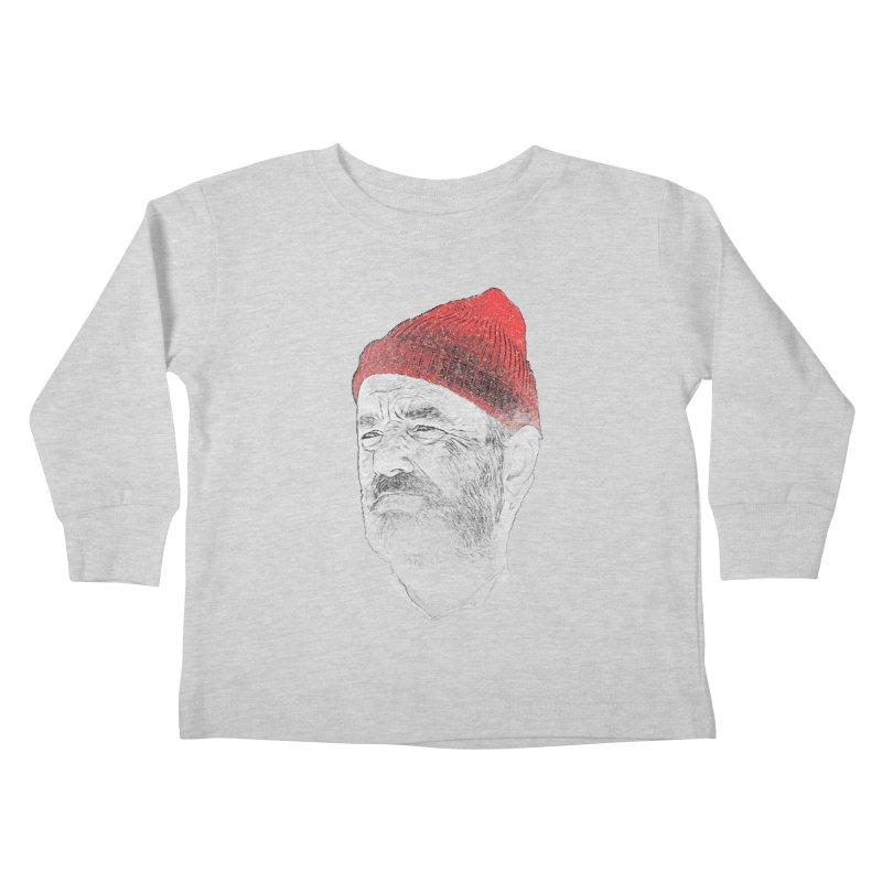 Steve Zissou Kids Toddler Longsleeve T-Shirt by Misterdressup