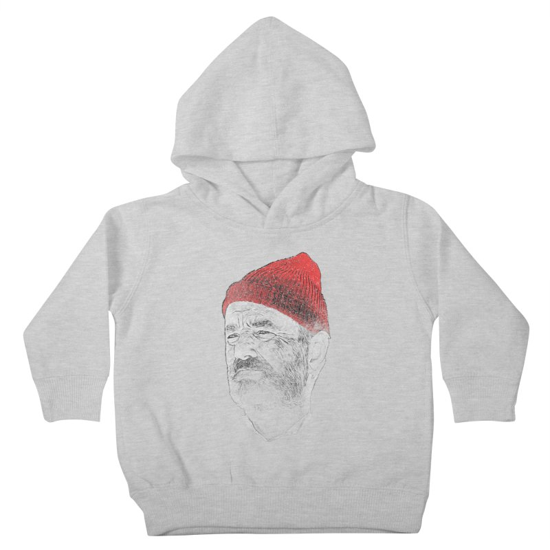 Steve Zissou Kids Toddler Pullover Hoody by Misterdressup