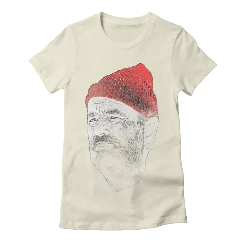 Steve Zissou Women's Fitted T-Shirt by Misterdressup