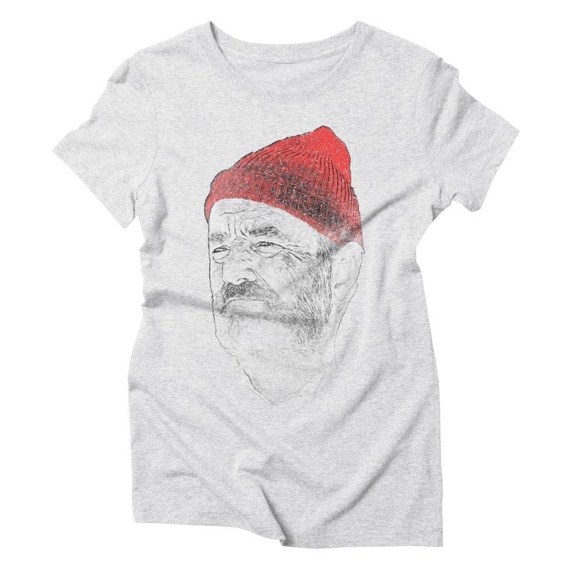 Steve Zissou Women's Triblend T-Shirt by Misterdressup