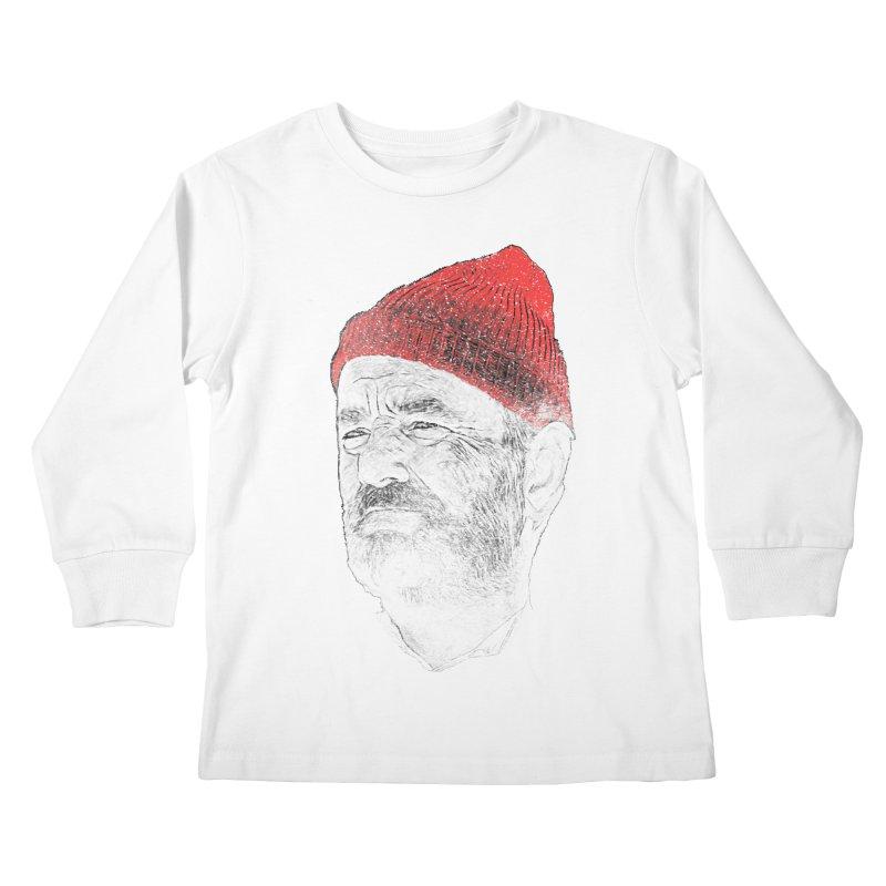 Steve Zissou Kids Longsleeve T-Shirt by Misterdressup