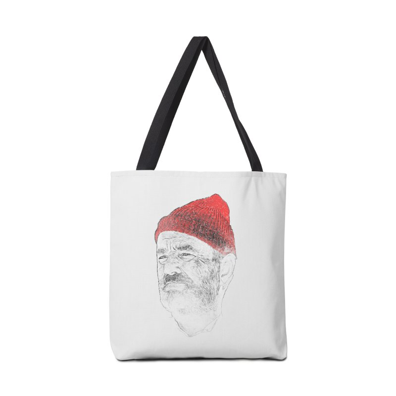 Steve Zissou in Tote Bag by Misterdressup