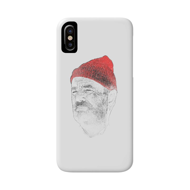 Steve Zissou Accessories Phone Case by Misterdressup