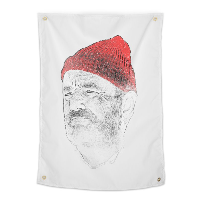 Steve Zissou Home Tapestry by Misterdressup
