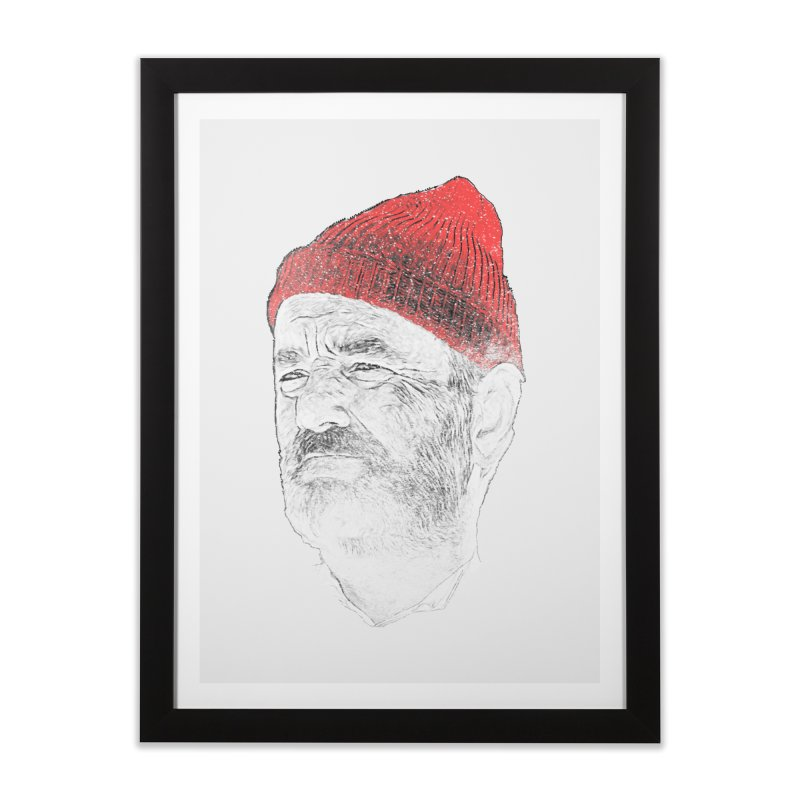 Steve Zissou Home Framed Fine Art Print by Misterdressup