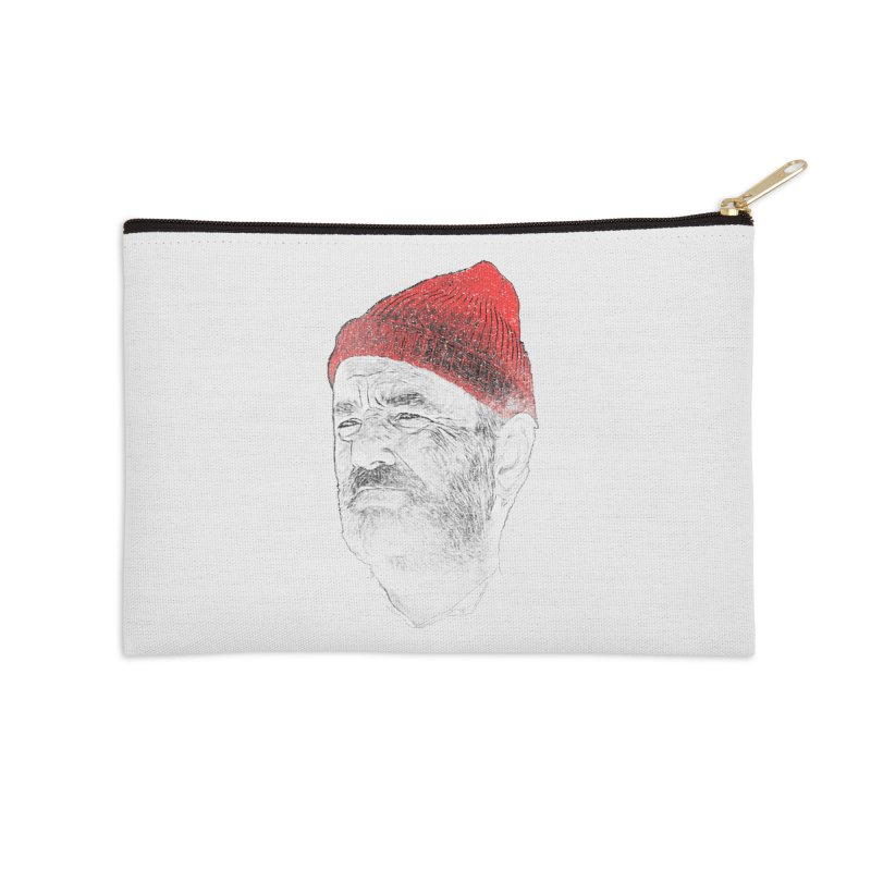 Steve Zissou Accessories Zip Pouch by Misterdressup