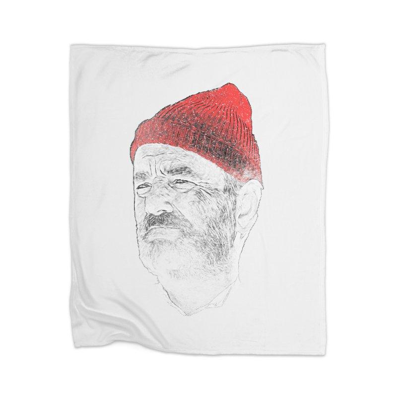 Steve Zissou Home Blanket by Misterdressup