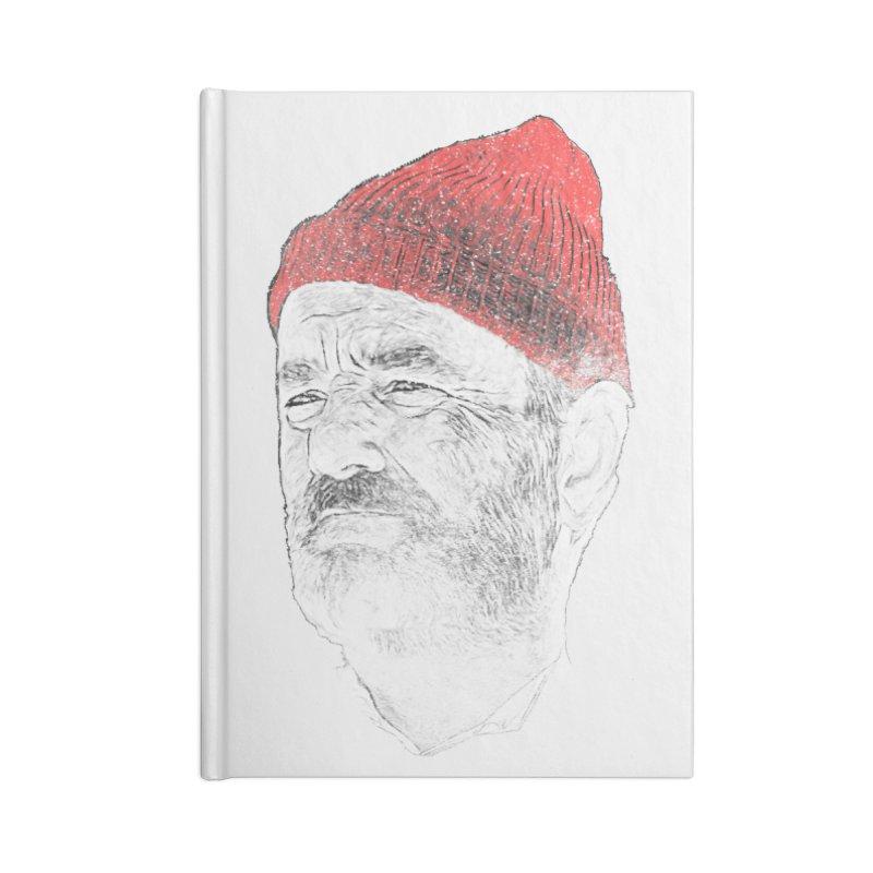 Steve Zissou Accessories Lined Journal Notebook by Misterdressup