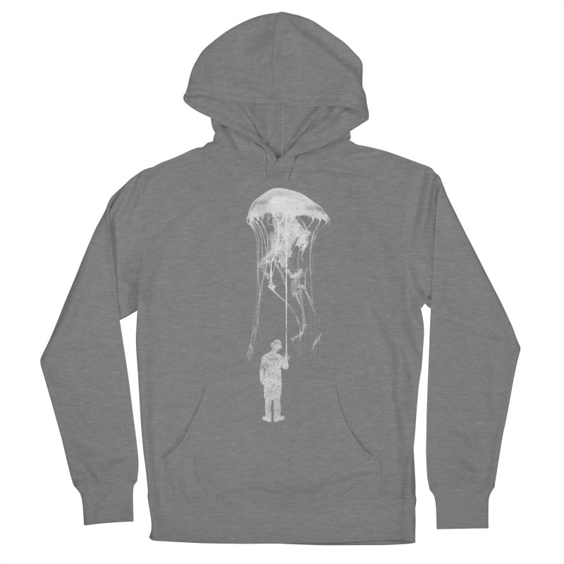 Unexpected Rain Men's French Terry Pullover Hoody by Misterdressup
