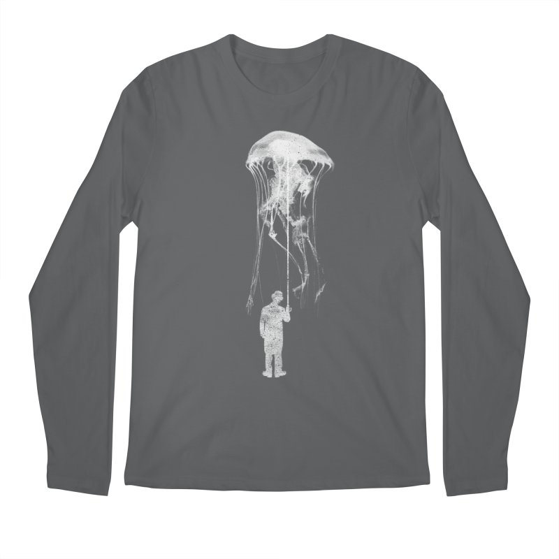 Unexpected Rain Men's Longsleeve T-Shirt by Misterdressup