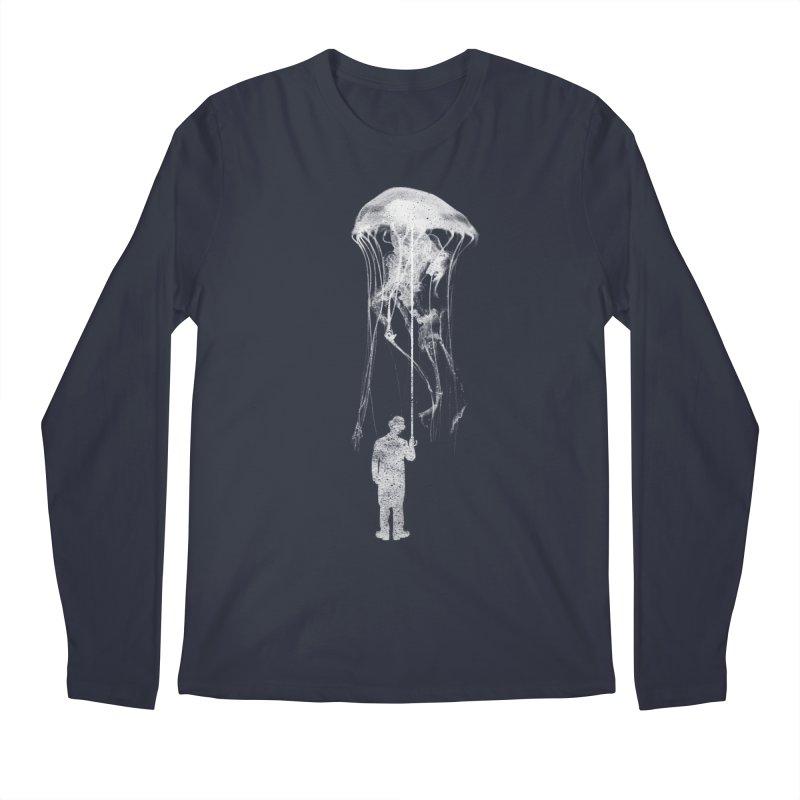 Unexpected Rain Men's Regular Longsleeve T-Shirt by Misterdressup
