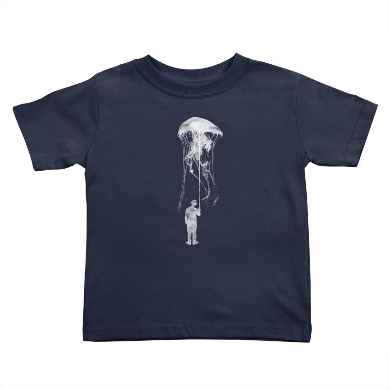 Unexpected Rain Kids Toddler T-Shirt by Misterdressup