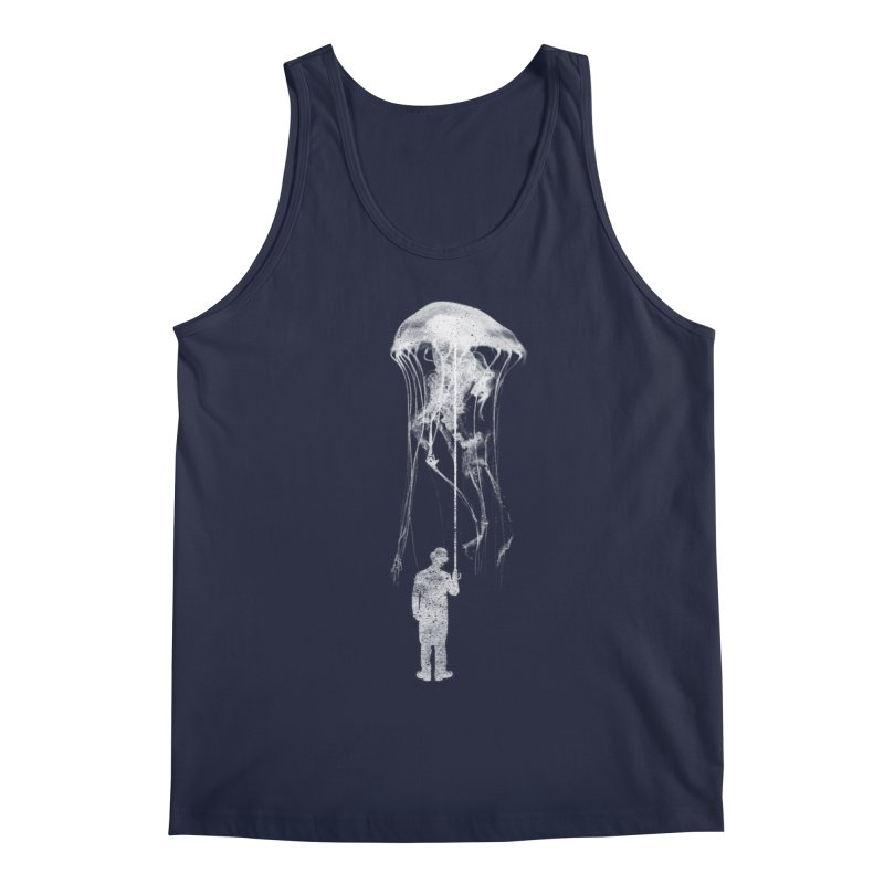 Unexpected Rain Men's Tank by Misterdressup