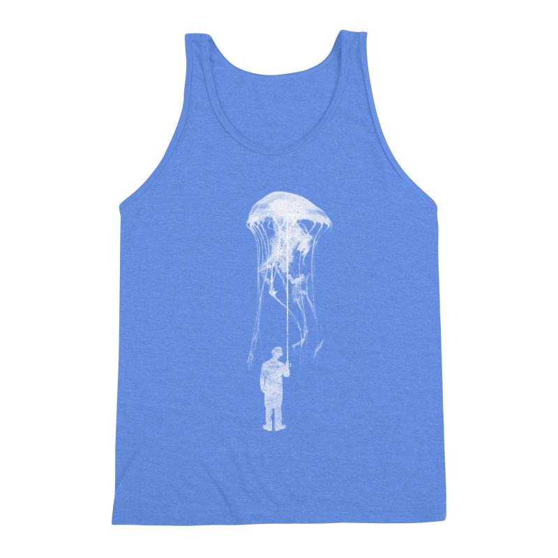 Unexpected Rain Men's Triblend Tank by Misterdressup